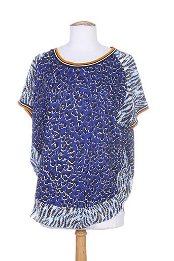 barbara bui t et shirts et tops femme de couleur bleu