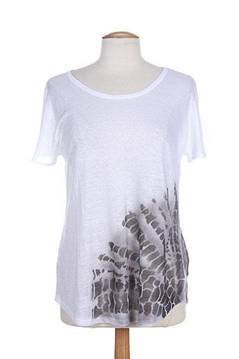 maria bellentani t-shirts femme de couleur blanc