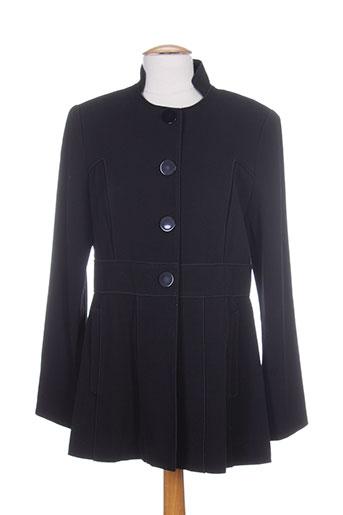 jean-luc francois vestes femme de couleur noir