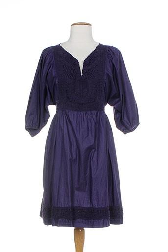 by joos robes femme de couleur violet