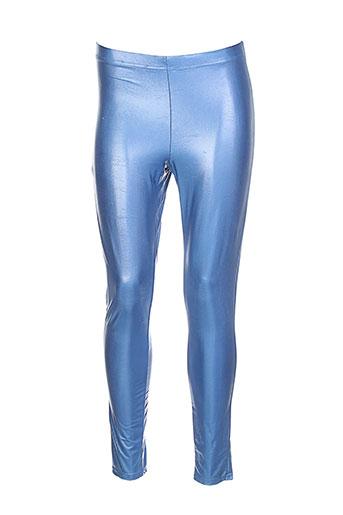 fifilles pantalons femme de couleur bleu