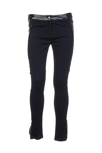 by joos pantalons femme de couleur noir
