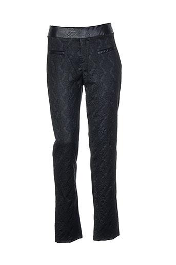 glüen pantalons femme de couleur noir