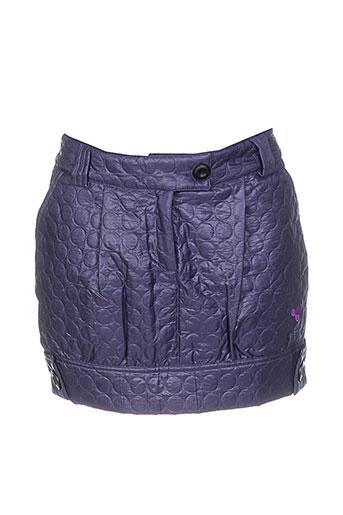 amarillolimon jupes et courtes femme de couleur violet