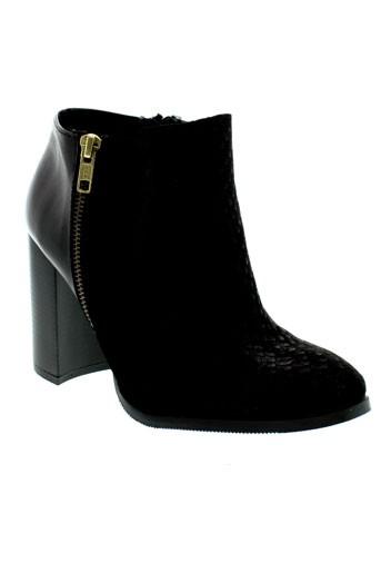 vero et moda boots femme de couleur noir