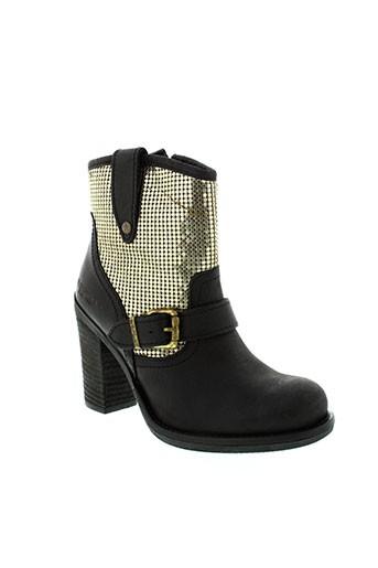 replay chaussures femme de couleur noir