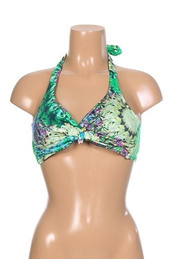 david maillots de bain femme de couleur vert