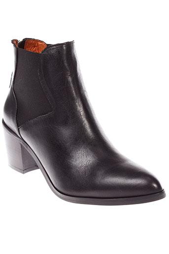 libre et comme et l et air boots femme de couleur noir