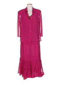 Veste/jupe violet ATIAN pour femme