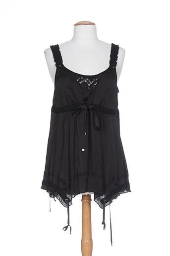 collection privee chemises femme de couleur noir