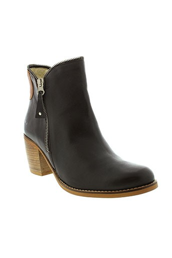 lsq boots femme de couleur marron