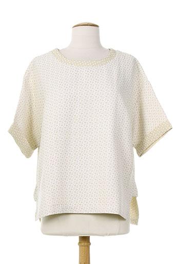 christina chemises femme de couleur beige