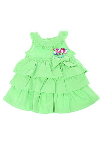 mayoral robes fille de couleur vert