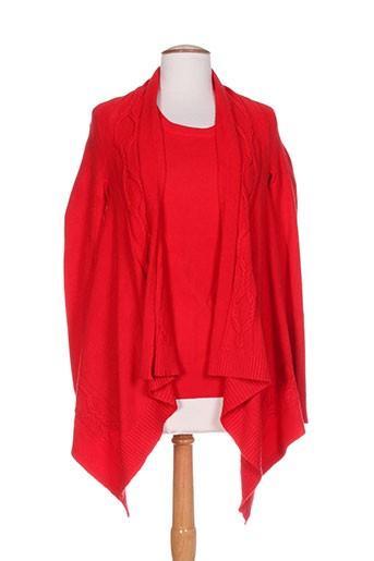 passioni t-shirts femme de couleur rouge