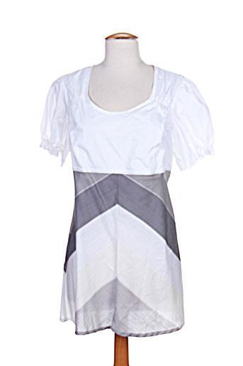 jensen chemises femme de couleur blanc