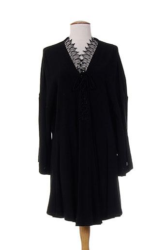 iro robes et mi et longues femme de couleur noir