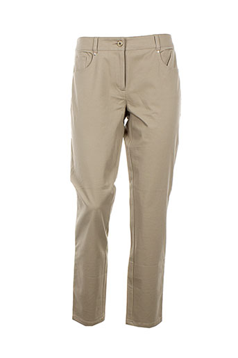 pennyblack pantalons femme de couleur beige