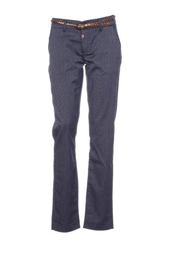 timezone pantalons et citadins femme de couleur bleu