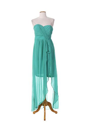 emma dore robes femme de couleur vert