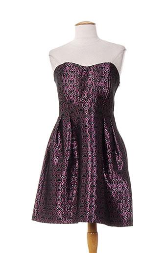 mademoiselle.r robes femme de couleur violet