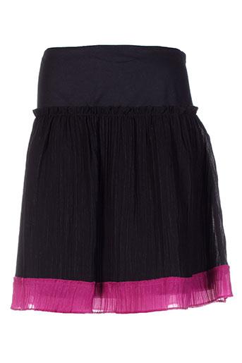 phildar jupes femme de couleur noir