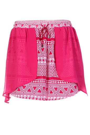 mystic jupes femme de couleur rose