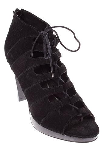soft grey chaussures femme de couleur noir