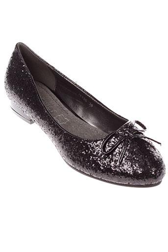 exquily chaussures femme de couleur noir