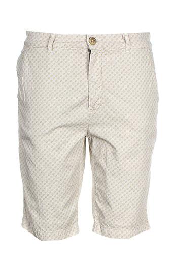 pepe jeans shorts / bermudas homme de couleur beige