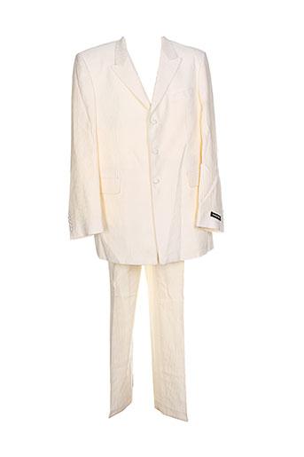 emmanuelle khanh costumes homme de couleur beige