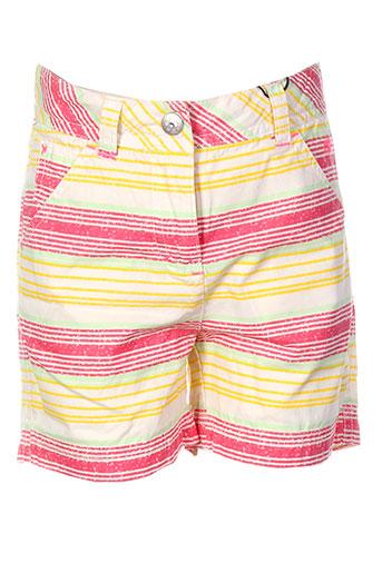tom tailor shorts / bermudas fille de couleur jaune