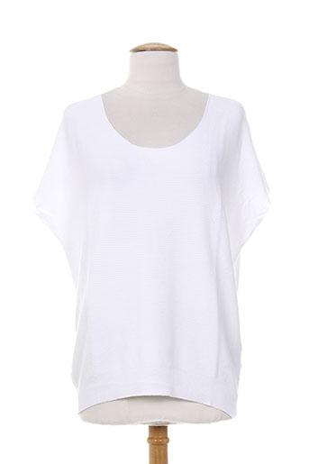 carolina p. t-shirts femme de couleur blanc