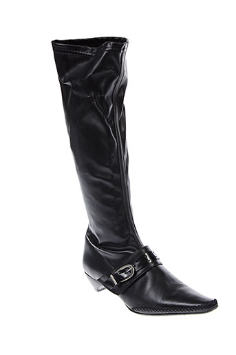 myma bottes femme de couleur noir