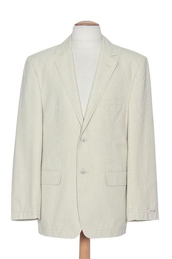 cafone vestes homme de couleur beige