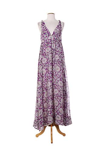 birger et mikkelsen robes femme de couleur violet