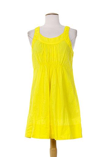 0039 et italy robes et mi et longues femme de couleur jaune (photo)