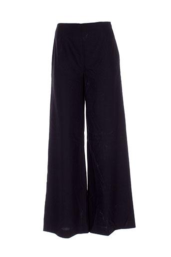designers remix collection pantalons femme de couleur noir