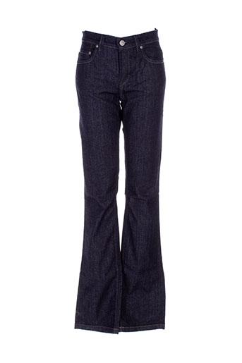 Jeans coupe droite bleu FLIPPA K pour femme