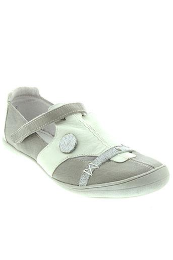gbb chaussures femme de couleur gris
