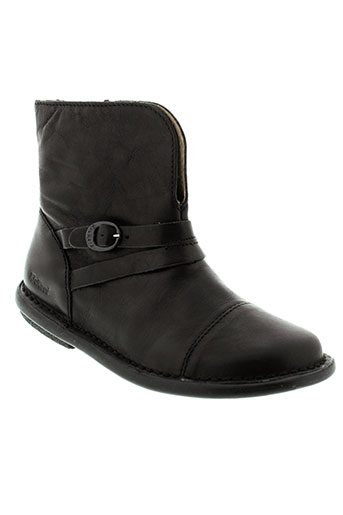 kickers bottines enfant de couleur noir