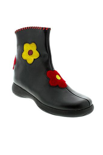 gbb boots fille de couleur noir