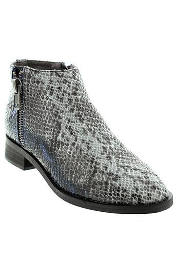 vanessa et wu boots femme de couleur bleu