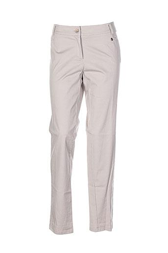 diambre pantalons femme de couleur gris