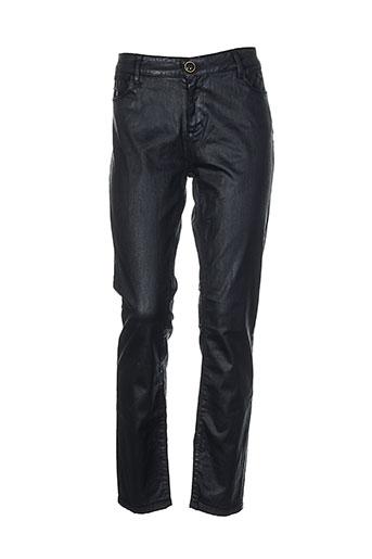 may&june pantalons femme de couleur noir