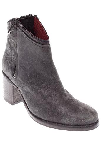 b et confiture boots femme de couleur noir