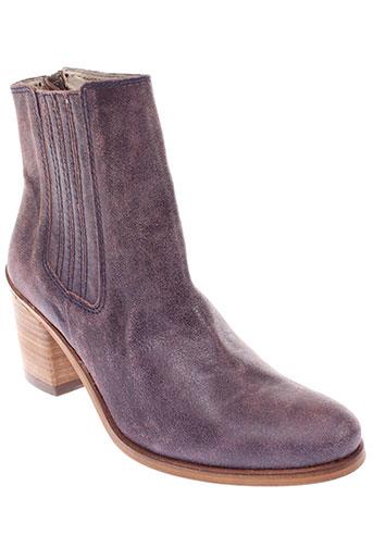 b et confiture boots femme de couleur violet