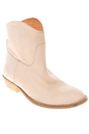 d.co copenhagen chaussures femme de couleur beige