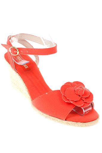 pare gabia chaussures femme de couleur orange