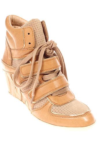 ash boots femme de couleur marron