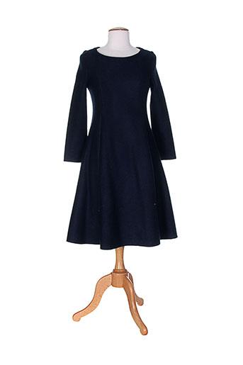 cacharel robes et mi et longues femme de couleur bleu
